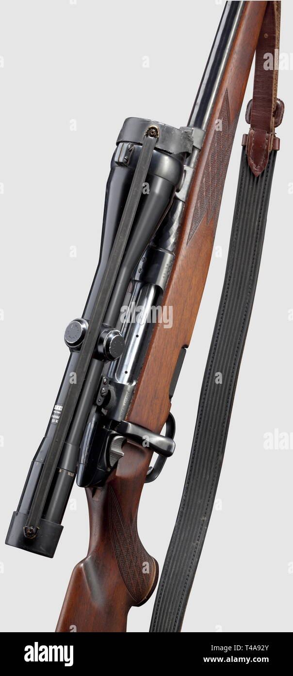 LONG ARMS, MODERN HUNTING WEAPONS, repeating full stock rifle Steyr