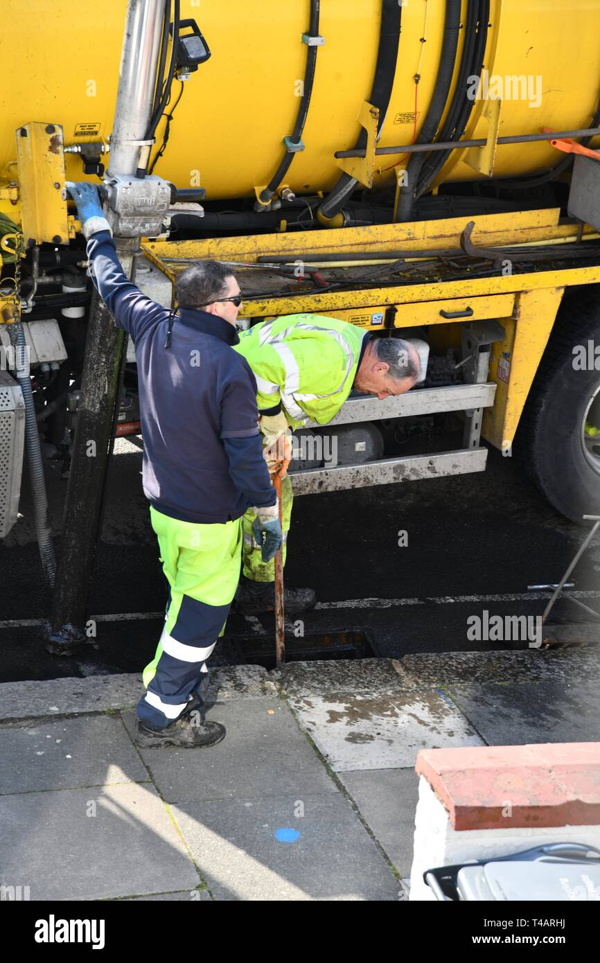 Cleaning Sewers Stock Photos & Cleaning Sewers Stock Images - Alamy