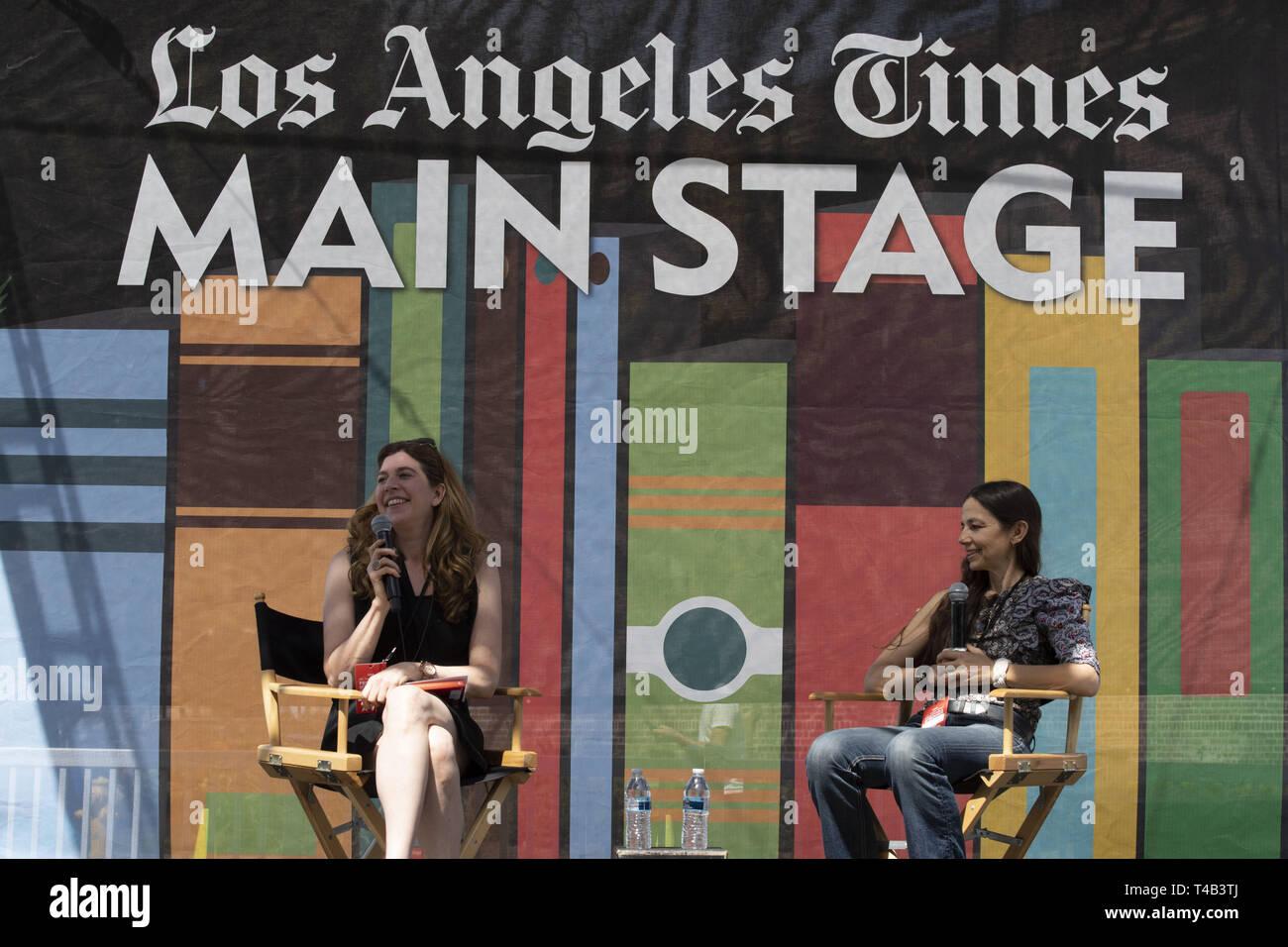 April 14, 2019 - Los Angeles, CA, U S - Justine Bateman, Author of