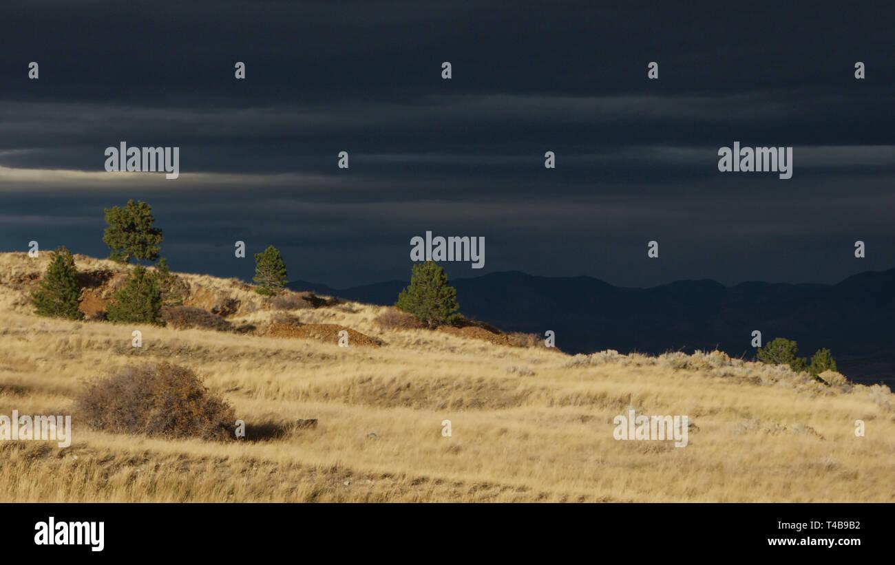 Landscape Photography Bright Background Dark Foreground