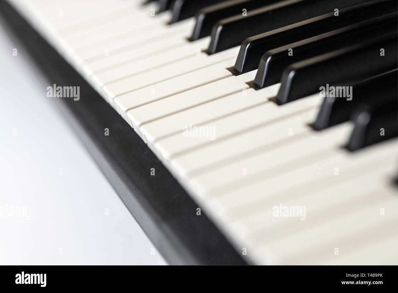 Synthesizer Keyboard Stock Photos & Synthesizer Keyboard