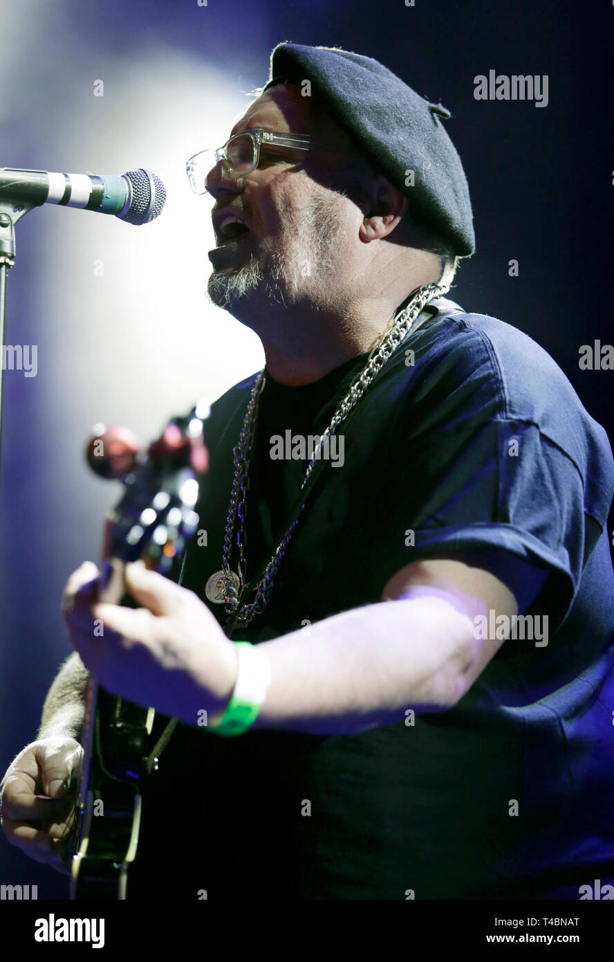 Special guest JC Carroll performs on stage during the Eddie and the Hot Rods show at o2 Academy Islington, London. - Stock Image