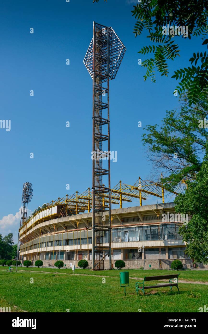 Fussballstadion, Plovdiv, Bulgarien - Stock Image