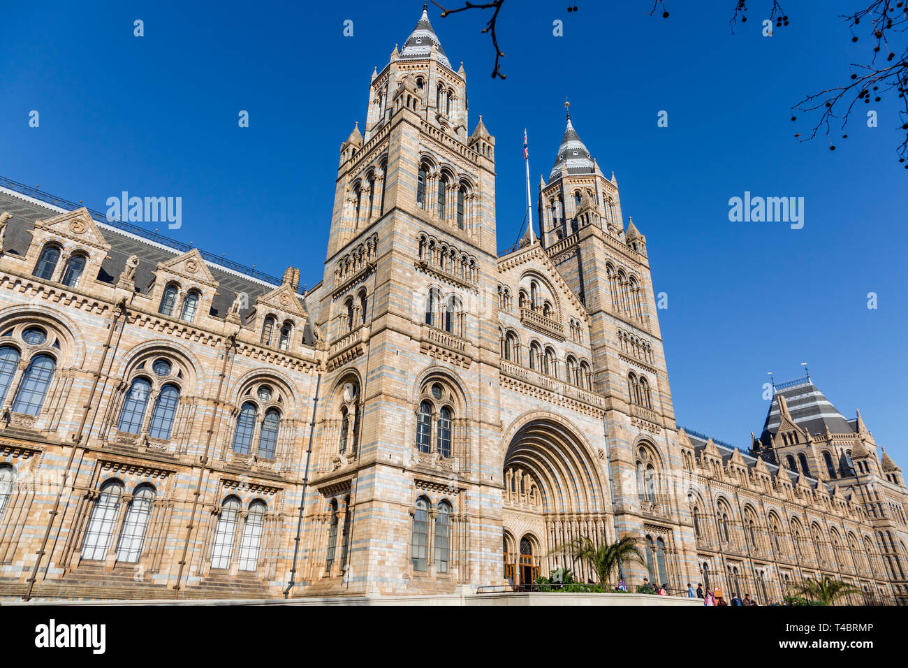 London Natural History Museum, England, UK - Stock Image