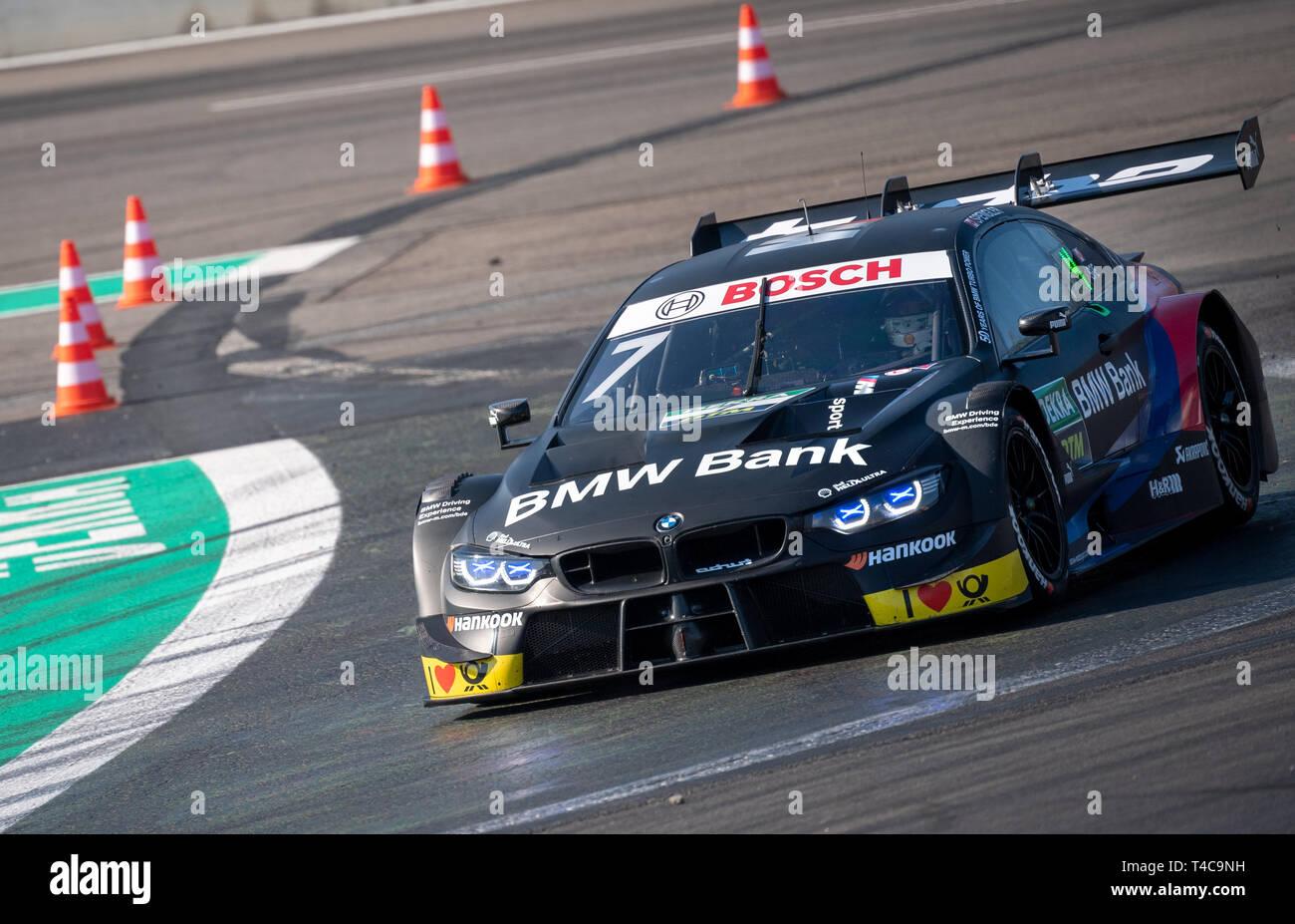 Klettwitz Germany 16th Apr 2019 Motorsport Dtm Test Media Day