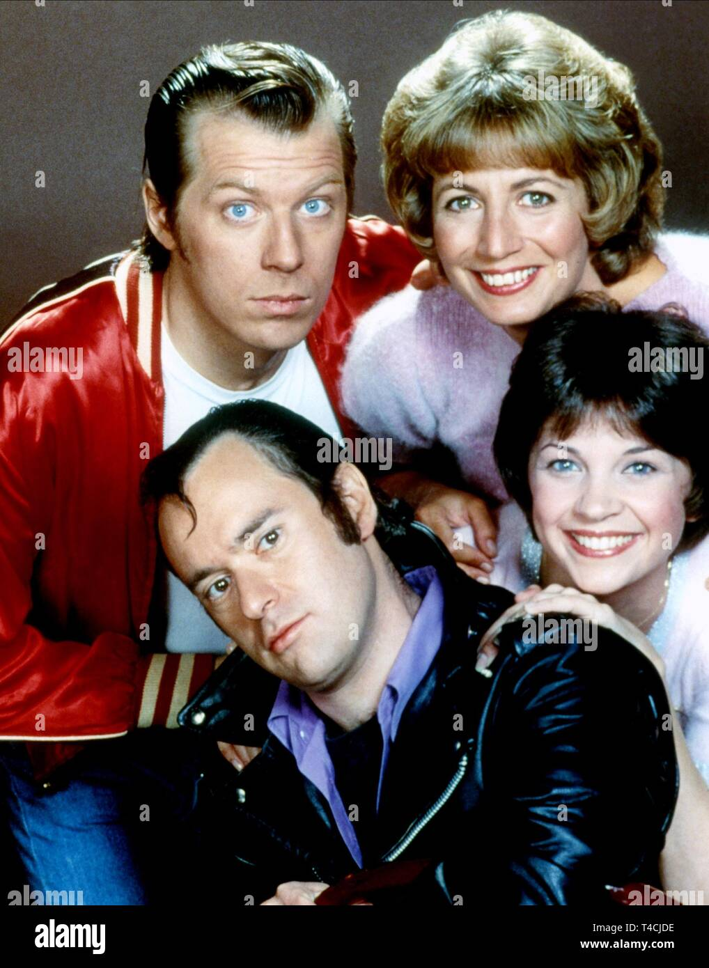 LANDER,MCKEAN,MARSHALL,WILLIAMS, LAVERNE and SHIRLEY, 1976 - Stock Image