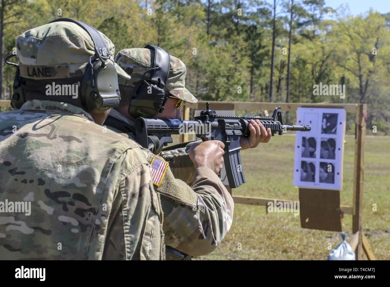 Georgia Army National Guardsman, Sgt  Darius Lane, representing the