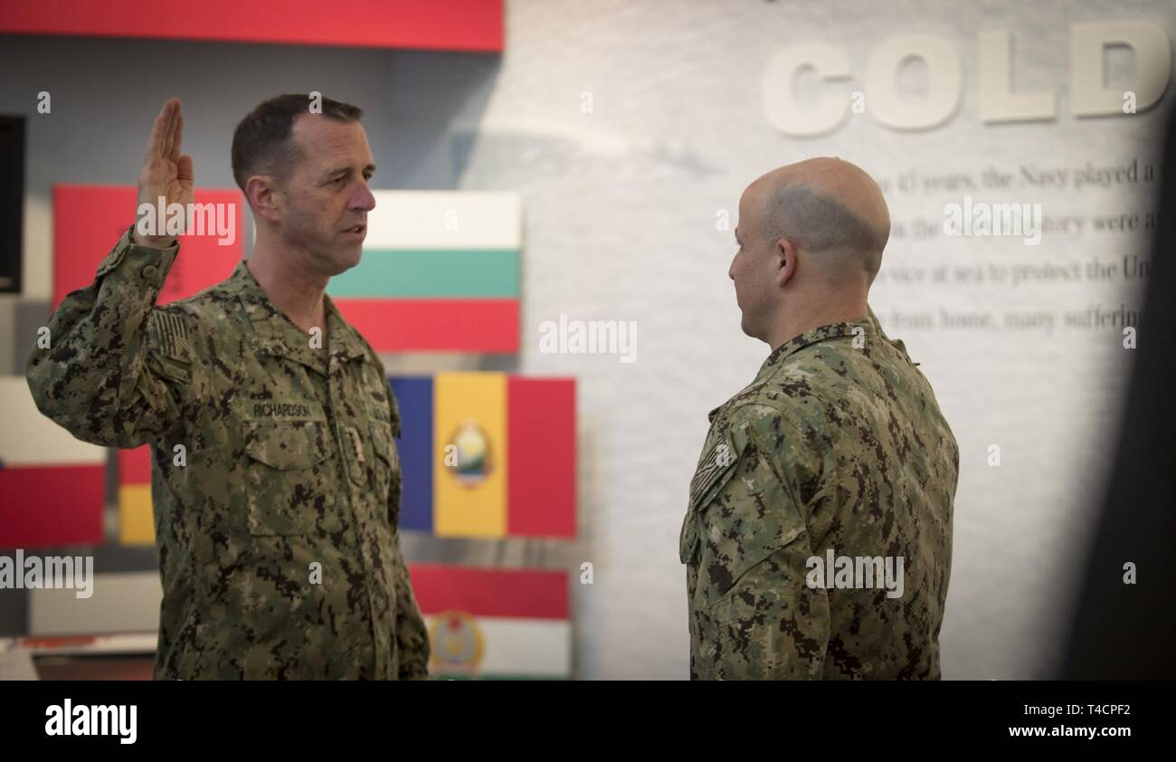 WASHINGTON (March 22, 2019) Chief of Naval Operations (CNO