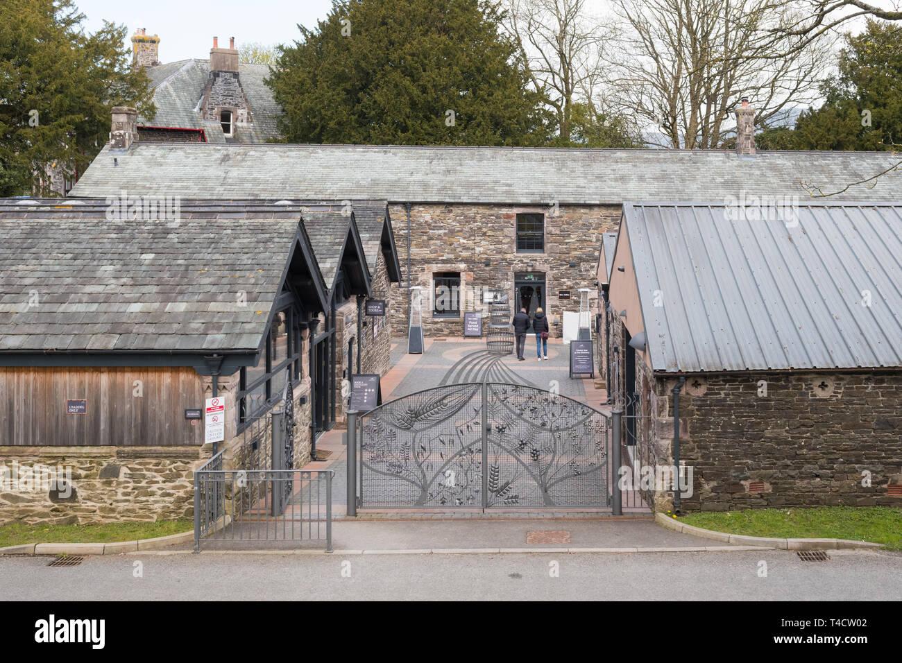 The Lakes Distillery, Bassenthwaite, Cumbria, England, UK Stock Photo