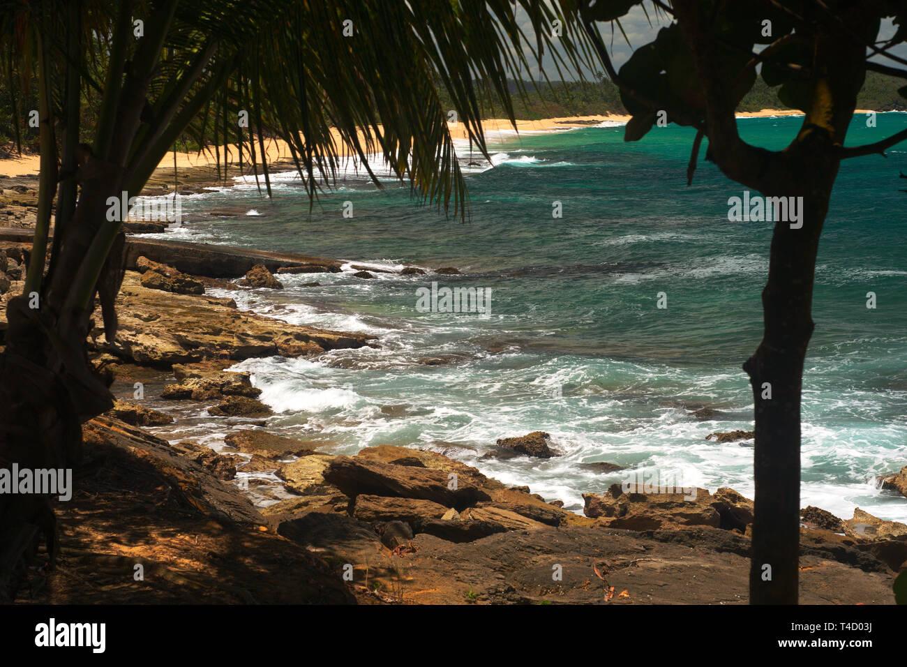 Muelle en Los Tubos - Stock Image