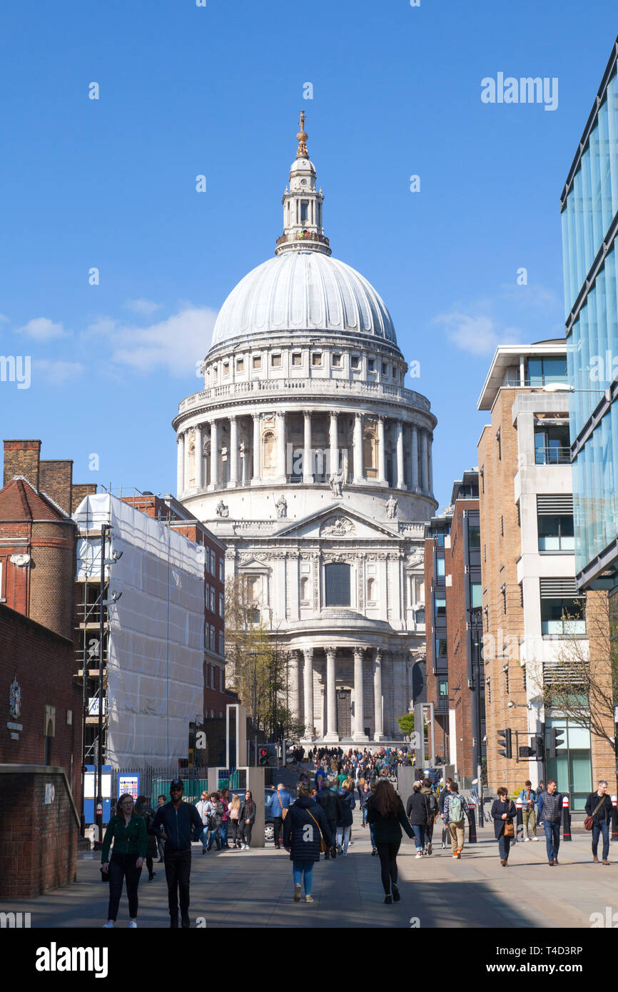 St Paul's Cathedral, London, England, United KIngdom. Stock Photo