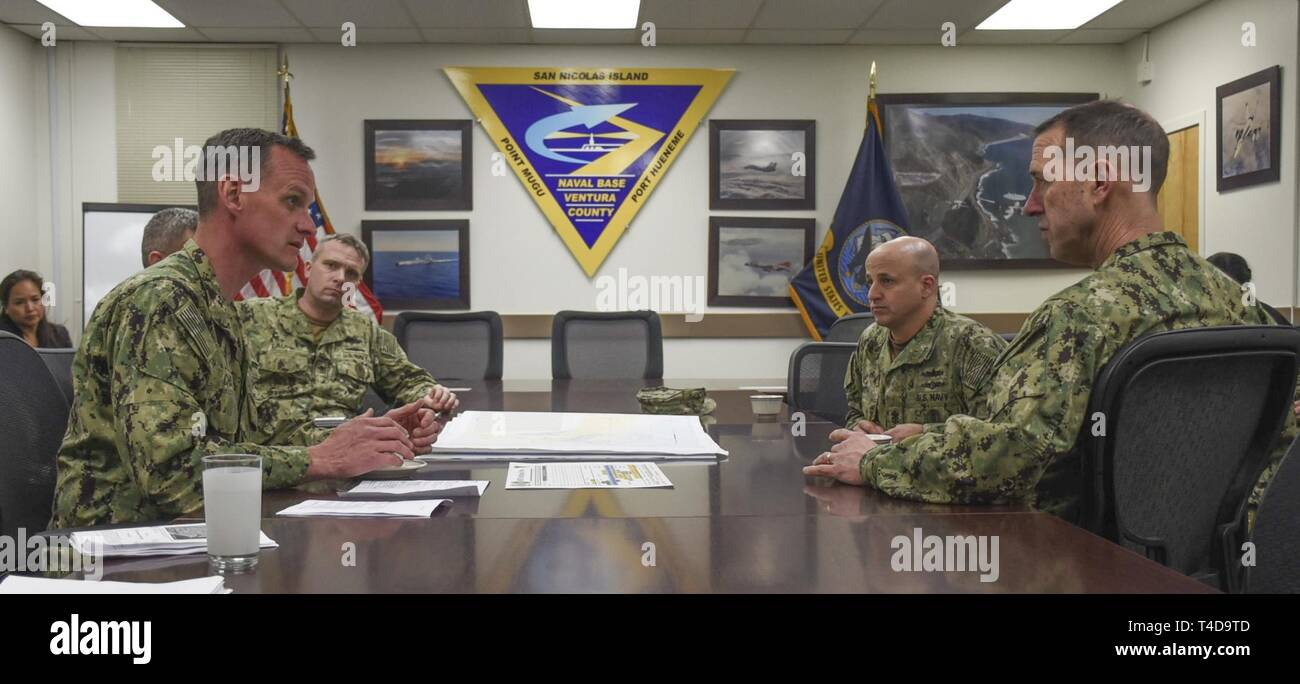VENTURA COUNTY Calif  (March 19, 2019) Chief of Naval