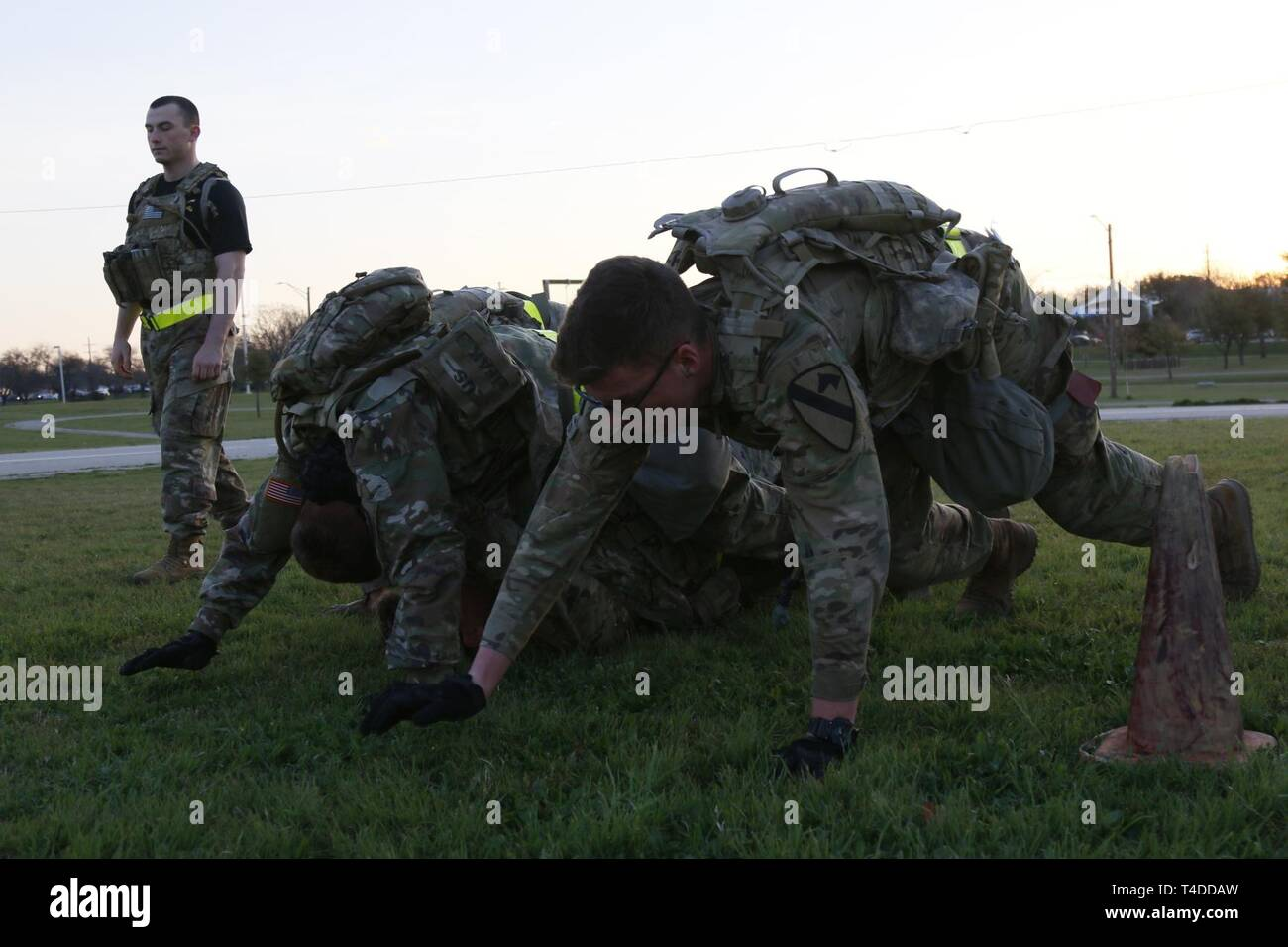 Soldiers from Bravo Company, 2nd Battalion 7th Cavalry Regiment, 3rd