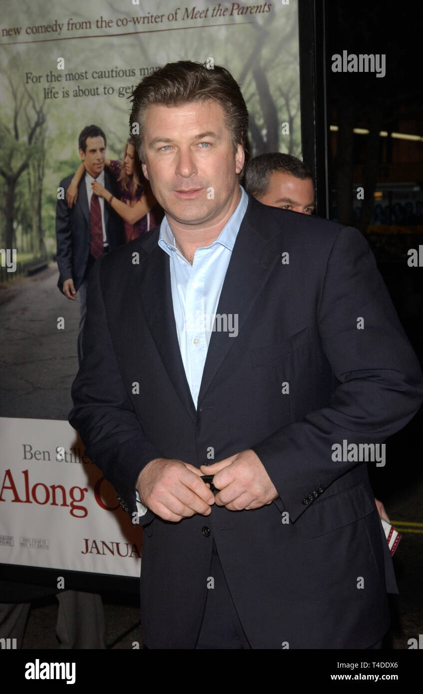 LOS ANGELES, CA. January 12, 2004: Actor ALEC BALDWIN at the world premiere, in Hollywood, of his new movie Along Came Polly. Stock Photo