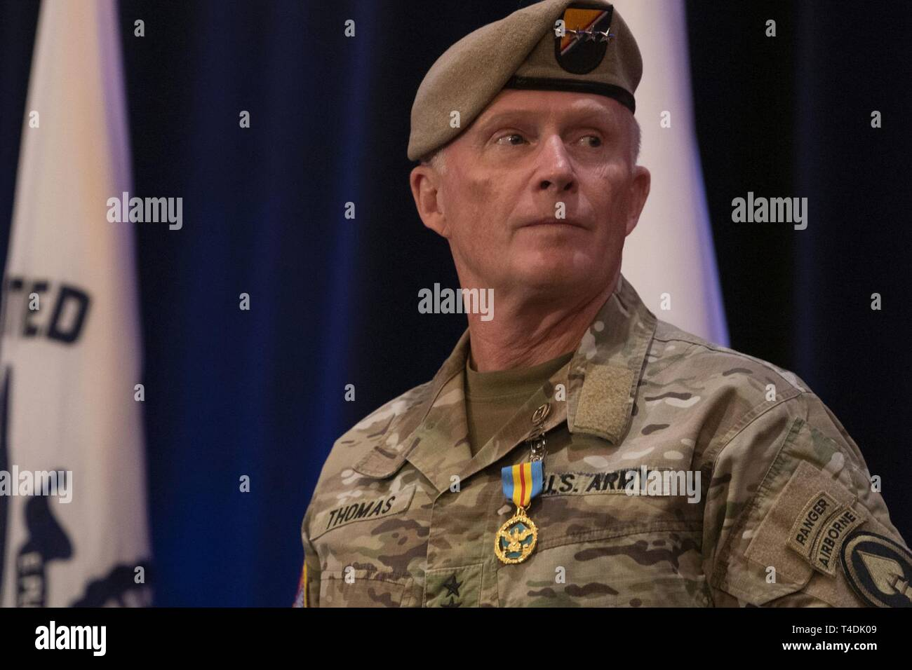 The commander of U S  Special Operations Command, U S  Army
