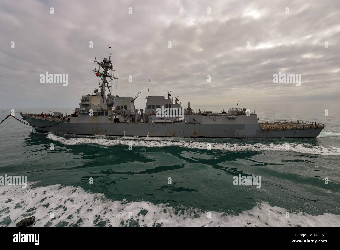 SEA (Mar  27, 2019) The guided-missile destroyer USS Gravely (DDG