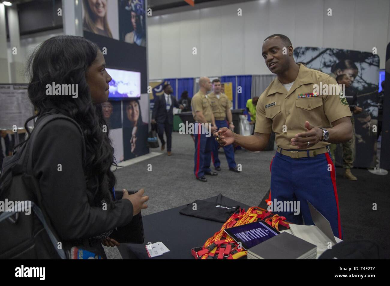 Marines Staff Sgt  Christopher Patterson, A recruiter from