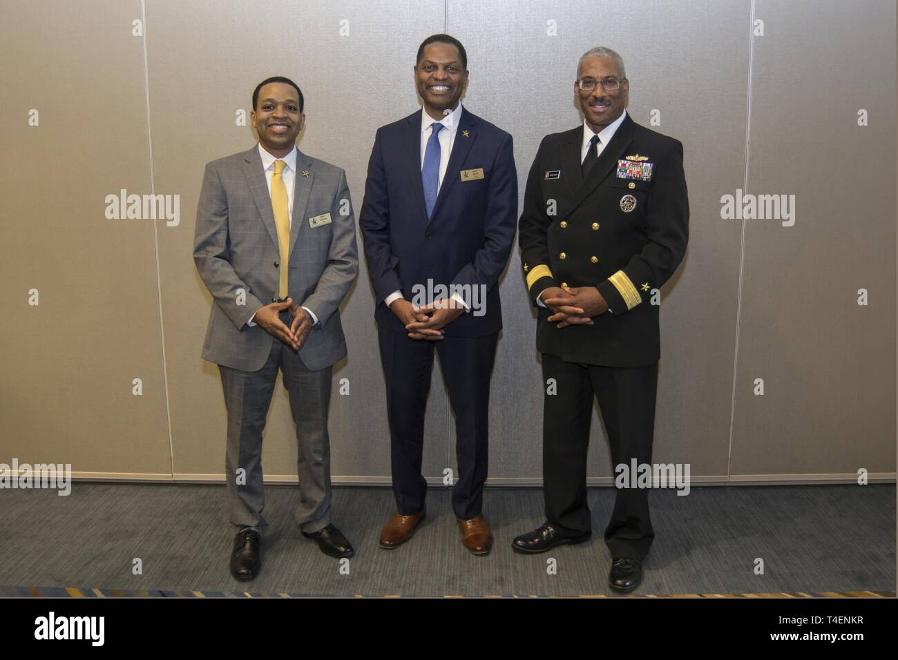 DETROIT (March 28, 2019) Rear Adm  Jesse Wilson, Jr