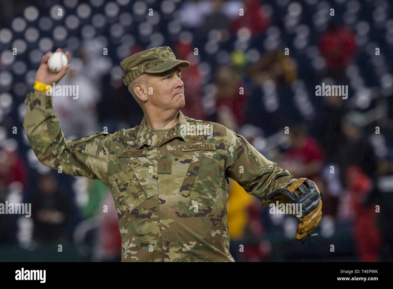 Maj Gen James Jacobson Air Force District Of Washington And The