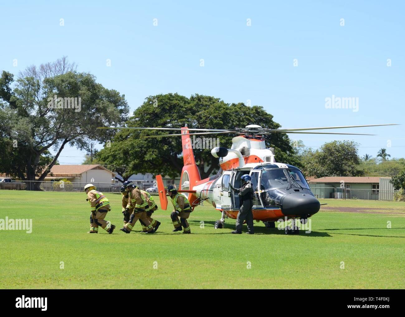 Coast Guard Mh 65 Dolphin Helicopter Stock Photos & Coast