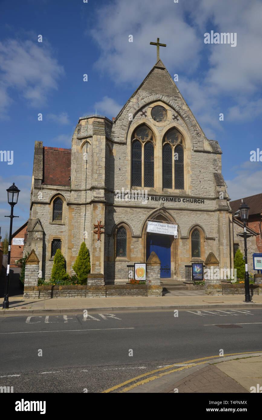 United Reformed Church, Rother Street, Stratford upon Avon, Warwickshire Stock Photo