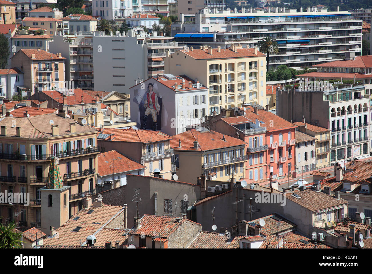 Cannes, Cote d'Azur, French Riviera, Alpes Maritimes, Provence, France, Europe - Stock Image