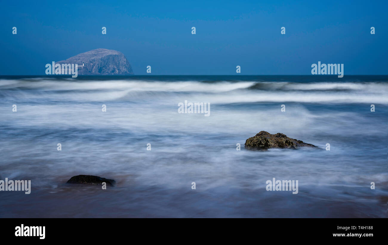 Bass Rock in the Firth of Forth, Scotland, UK Stock Photo