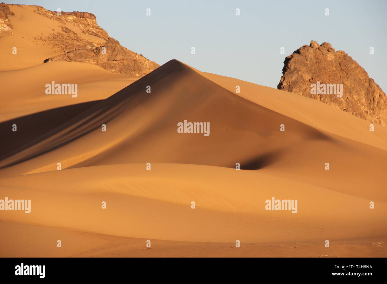 Africa, Sahara desert, Tchad - Bourkou district - Stock Image