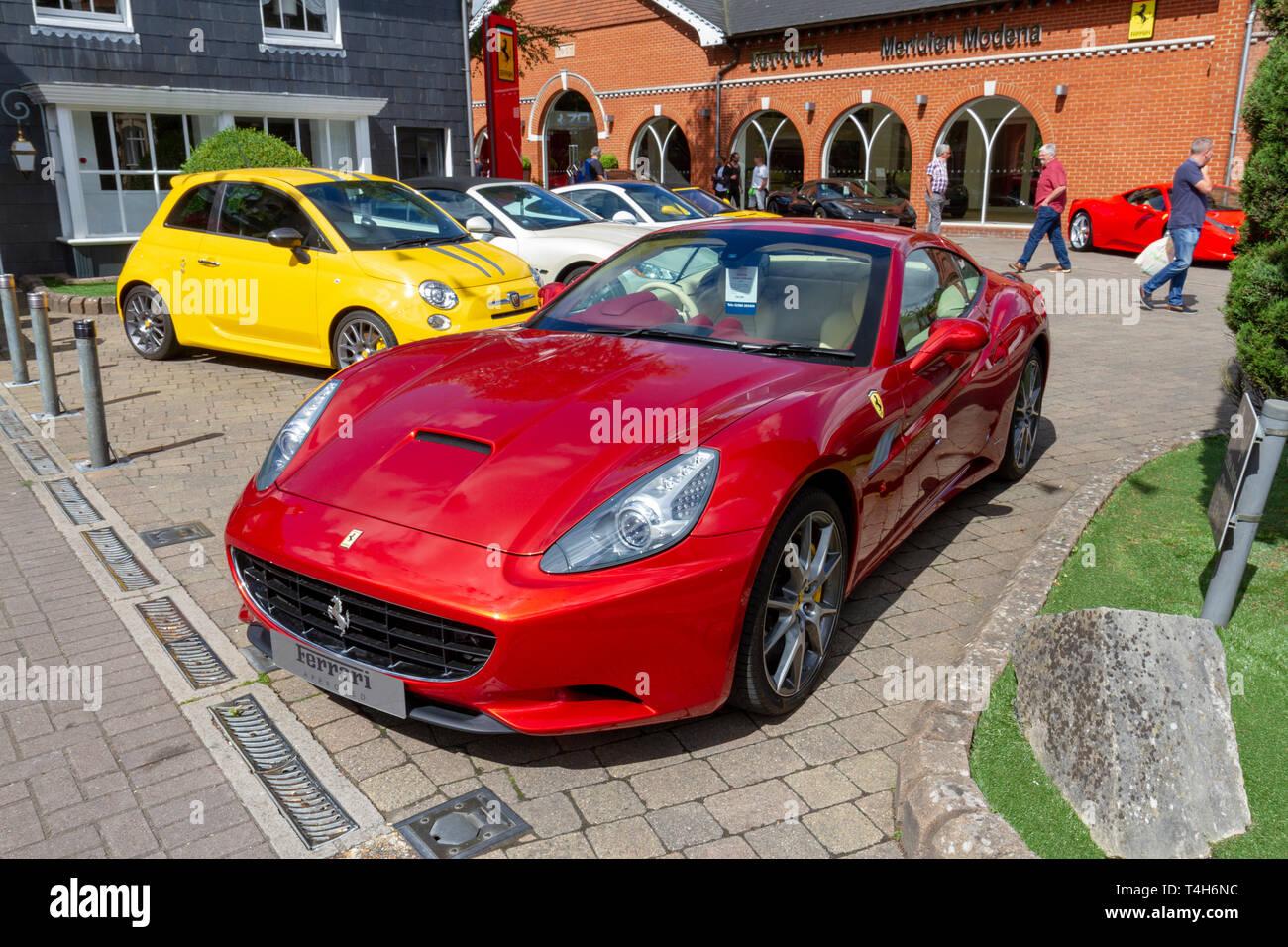Ferrari Dealership Nc >> Red Ferrari Showroom Stock Photos Red Ferrari Showroom