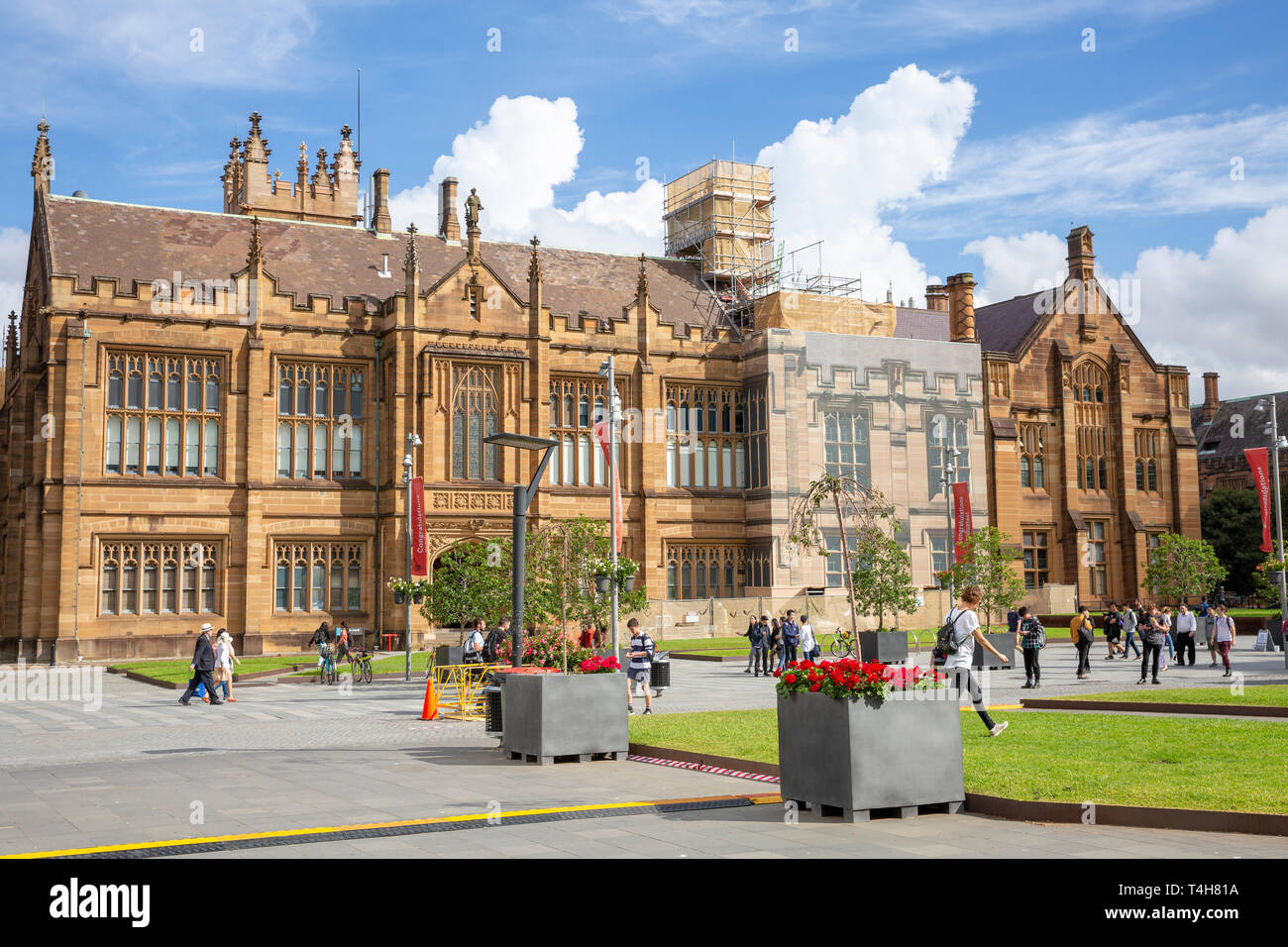 University of Sydney and the Anderson stuart building which contains Sydney medical school,Sydney,Australia - Stock Image