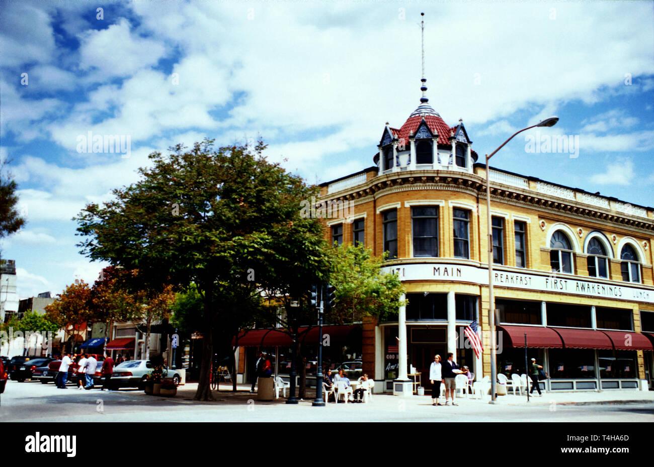 California Monterey County Salinas Valley Salinas Main Street Oldtown district - Stock Image