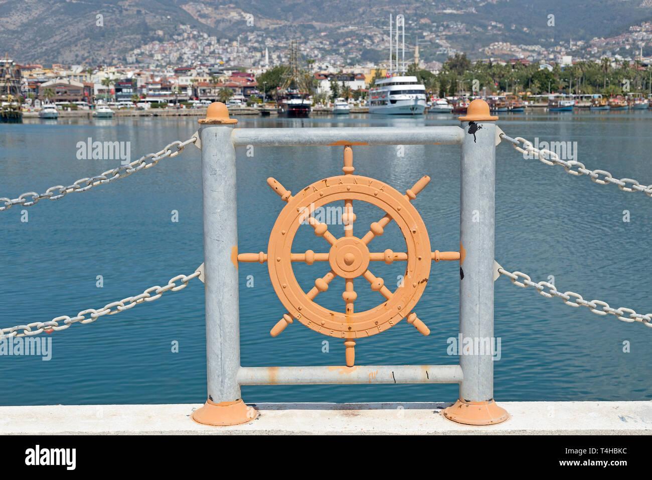 harbour, Alanya, Turkey - Stock Image