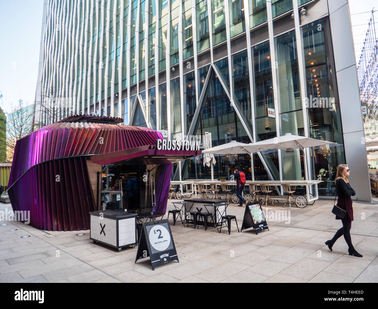 Cross Town, Luxury Doughnuts, Nova Development, Victoria, London, England, UK, GB. - Stock Image