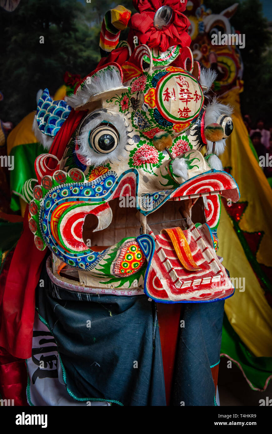 e193ffca5 closeup head dancing dragon china. Chinese lion dance costumes for Chinese  new year. Art
