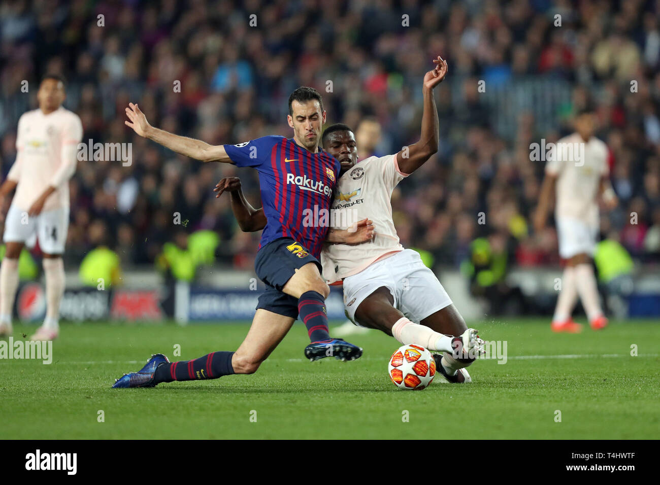 1bdb9858cac Paul Pogba Manchester United In Stock Photos   Paul Pogba Manchester ...