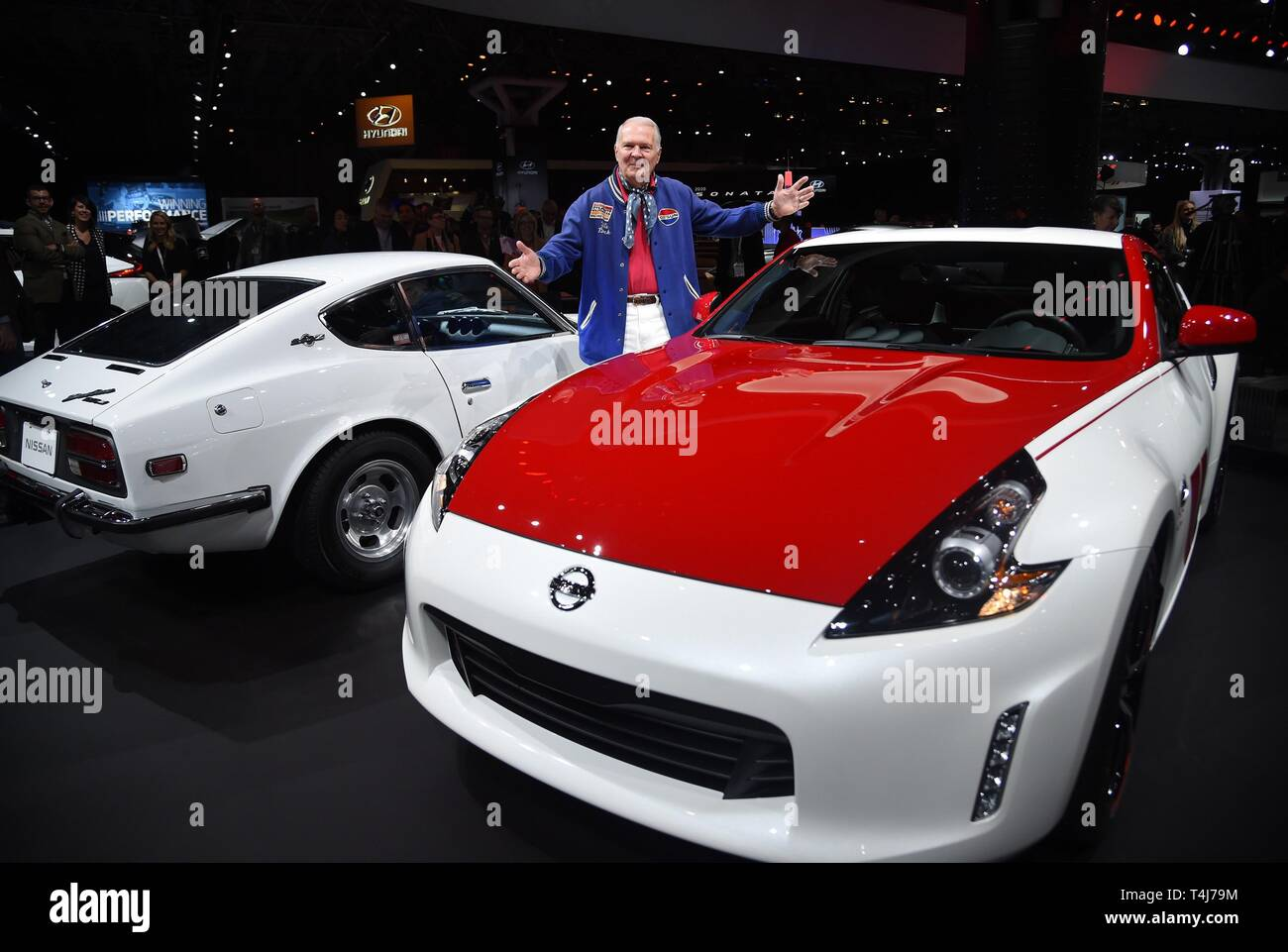New York Ny Usa 17th Apr 2019 Peter Brock 2020 Nissan