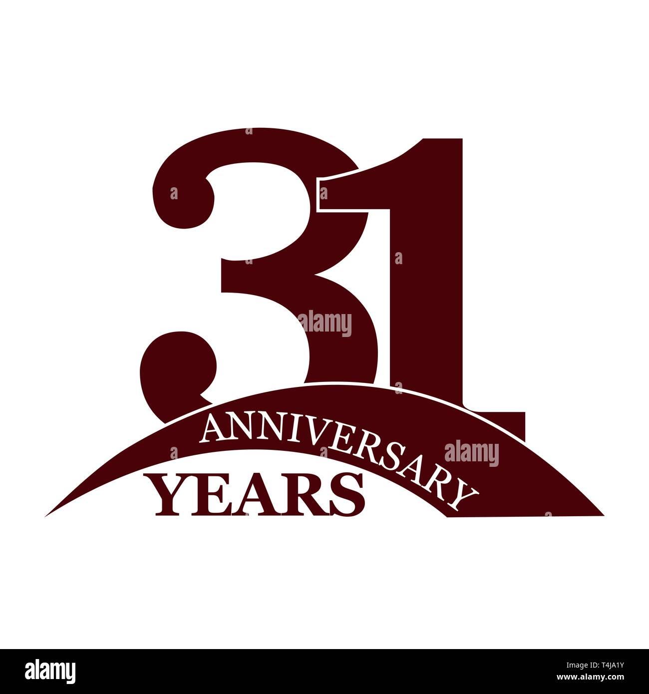 Anniversario Di Matrimonio 31 Anni.Anniversary 31 Years Birthday Greetings Happy Birthday Or