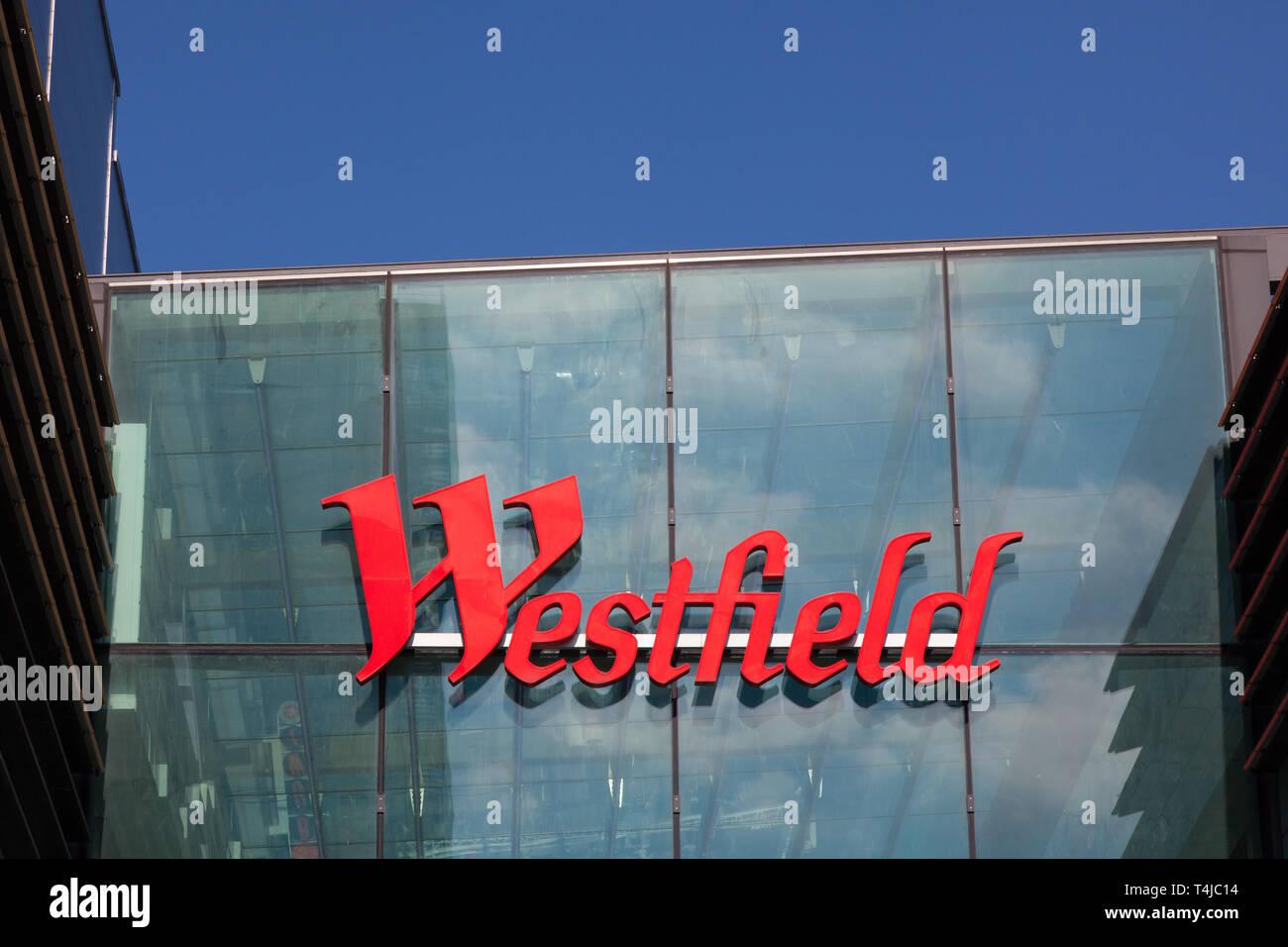 Westfield Shopping Centre, Stratford, London, England, United Kingdom. - Stock Image