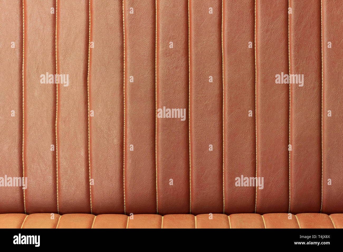 Vintage Leather Sofa Texture Old Furniture Style Concept