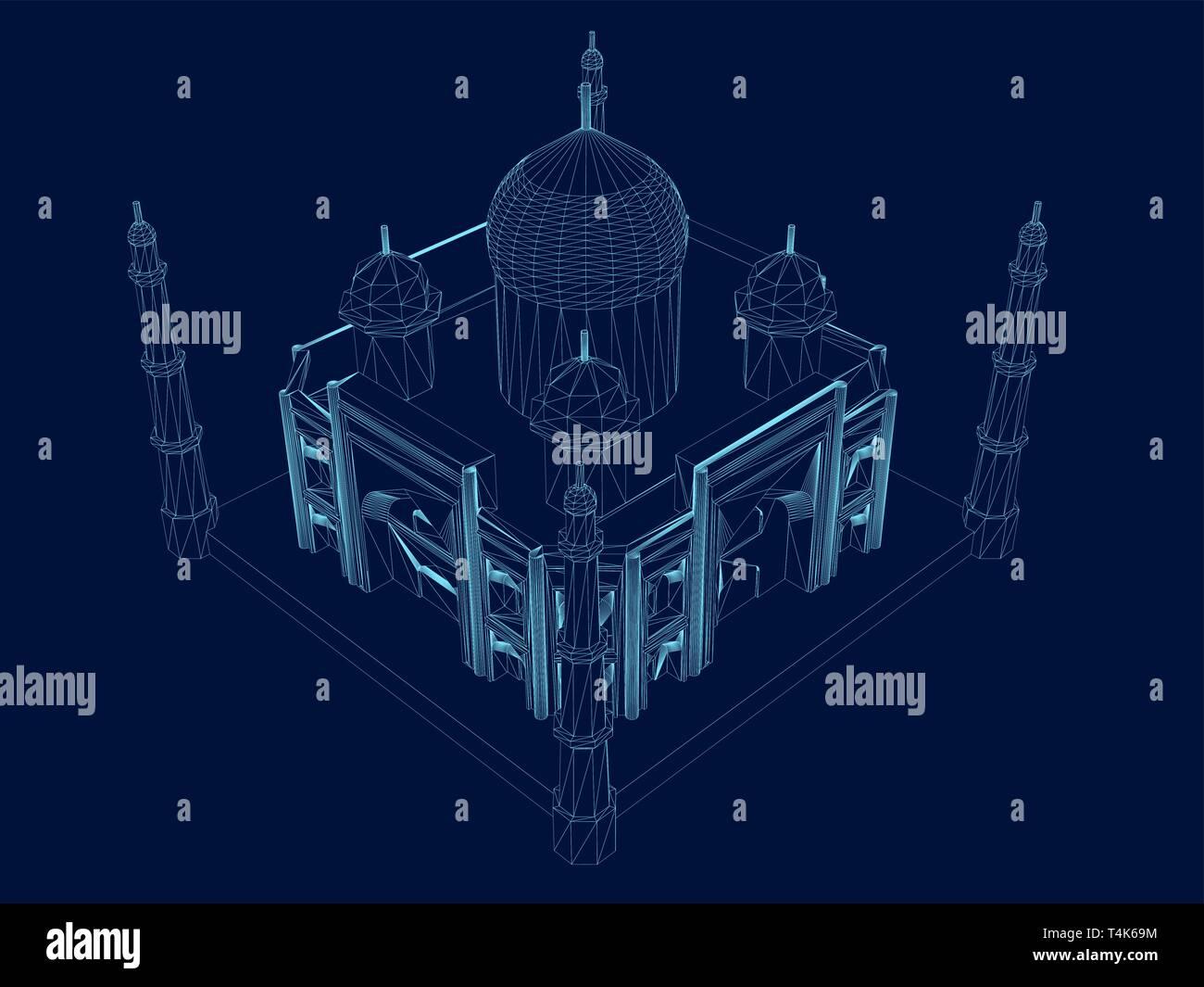 Dark Castle Concept Art Isometric