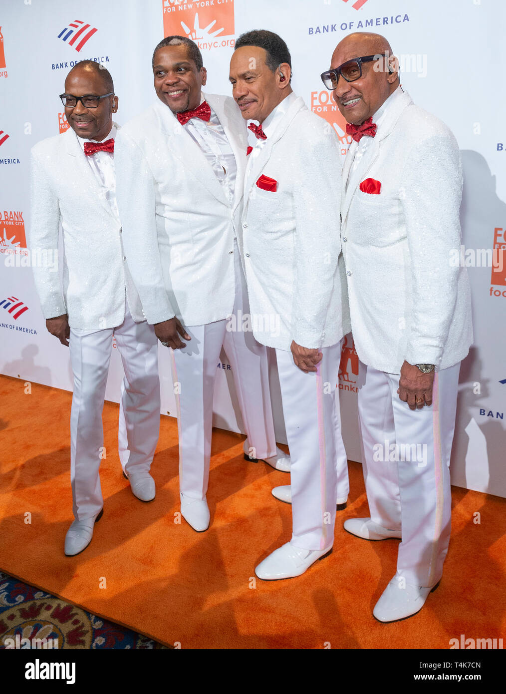 New York, United States  16th Apr, 2019  Band The Four Tops