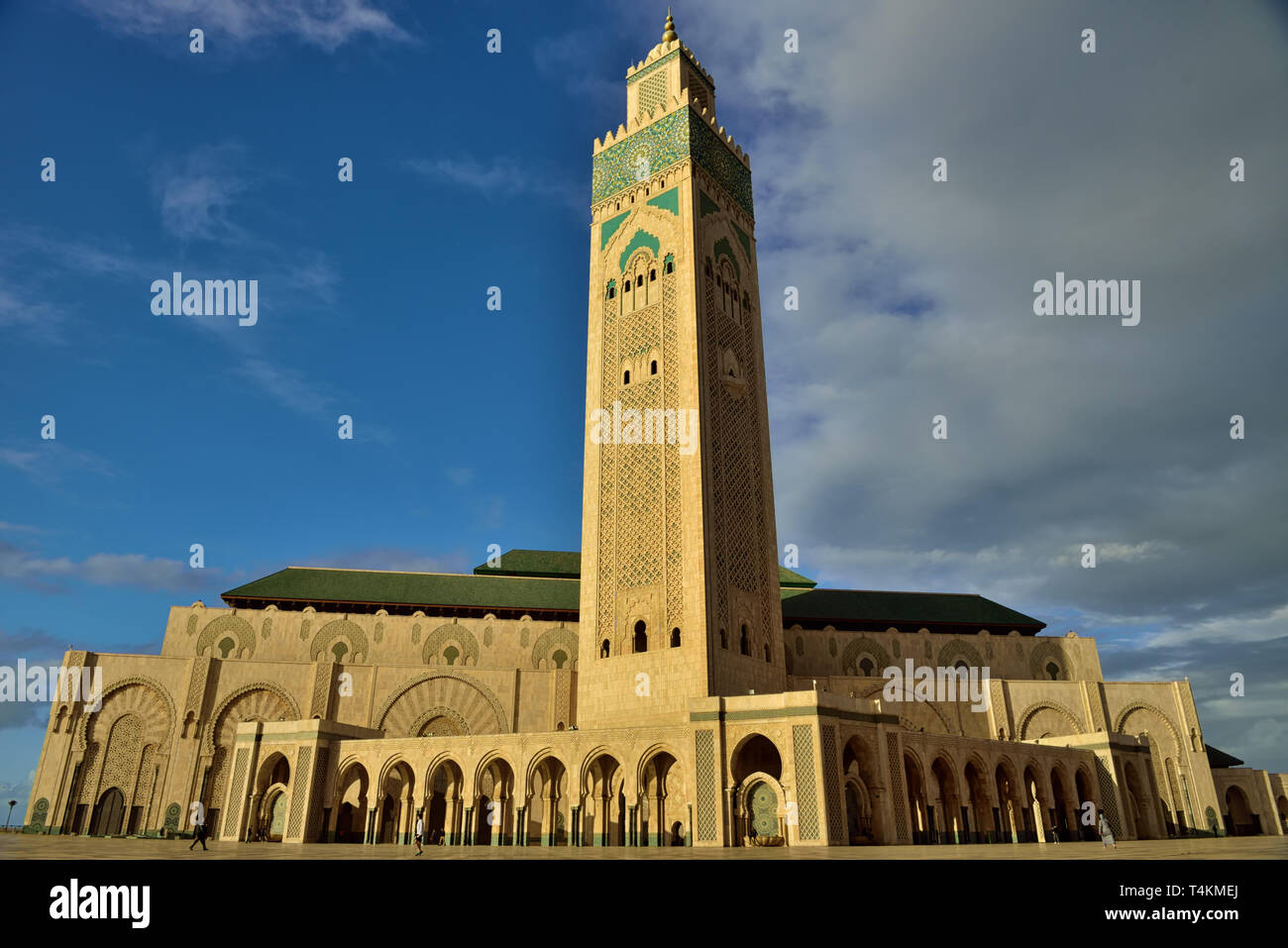 The qibla wall is perpendicular to the naves which is said to be an unconventional layout, given that it is customary for the rows of worshipers facin - Stock Image