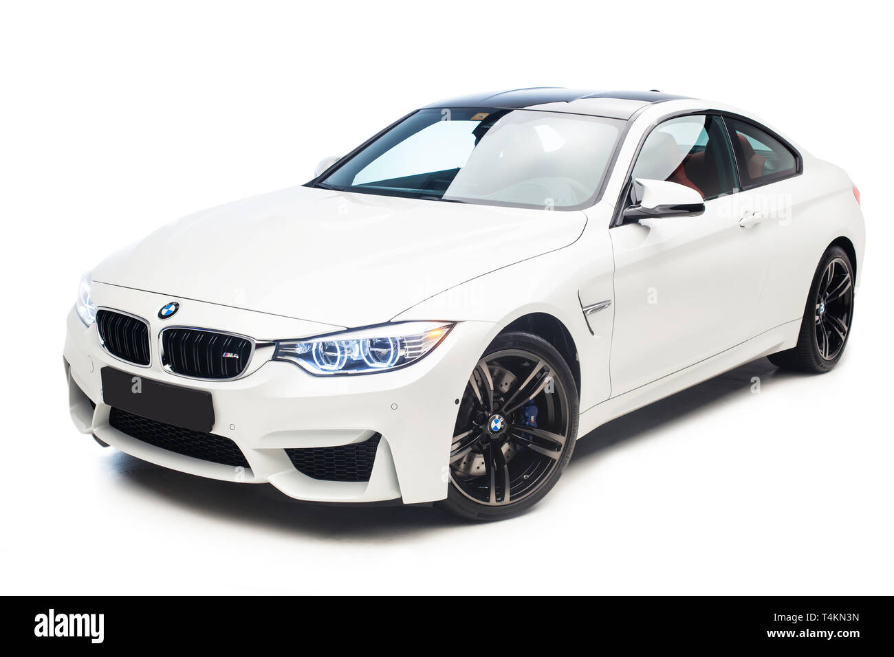 2015 BMW M4 Coupe - Stock Image