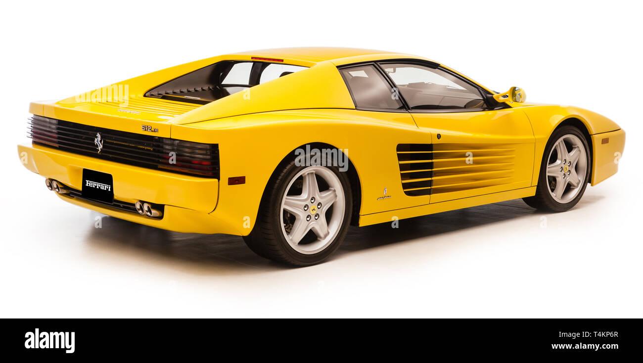 Ferrari Testarossa - Stock Image