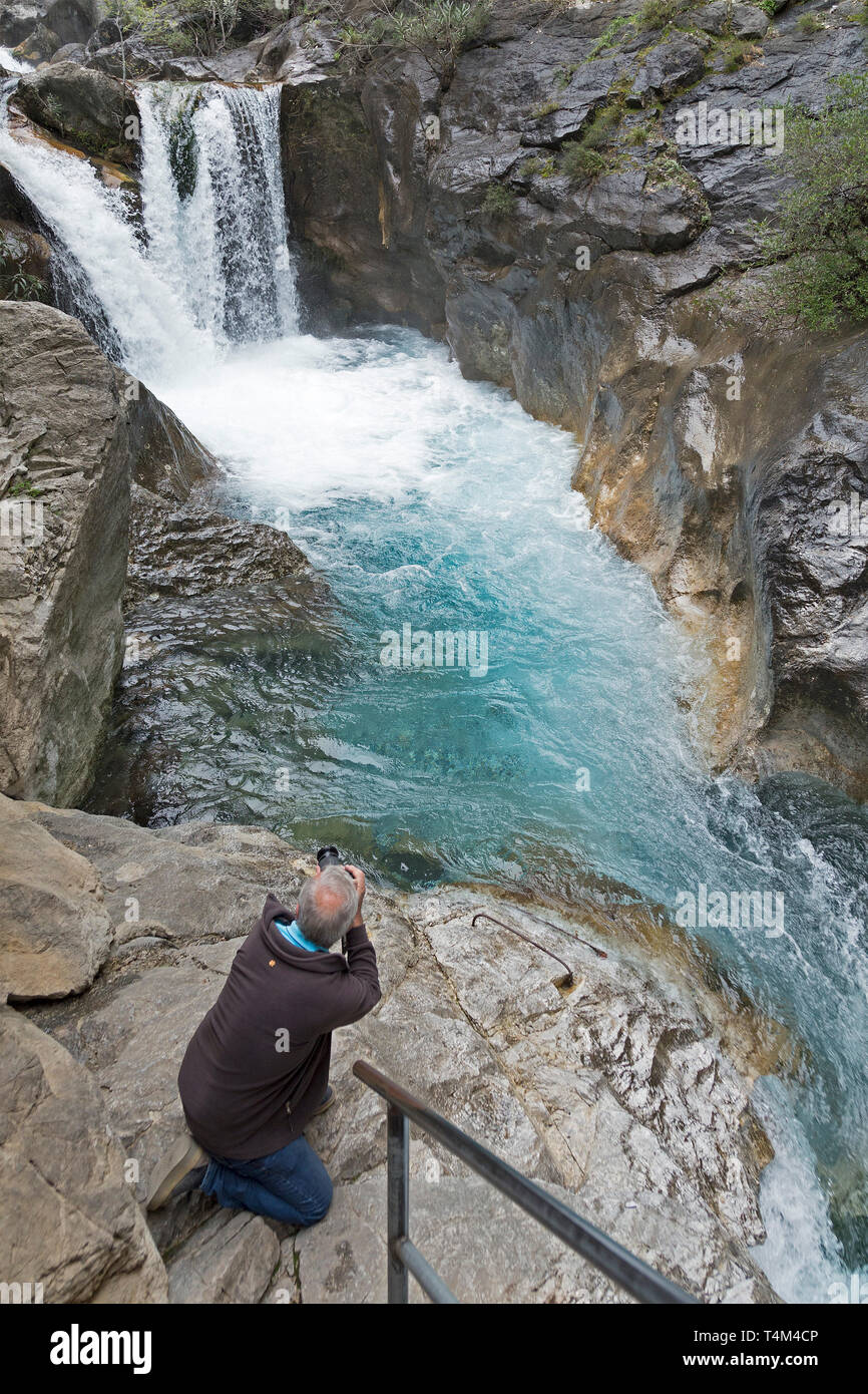 Sapadere Canyon, near Demirtas, Province Antalya, Turkey - Stock Image