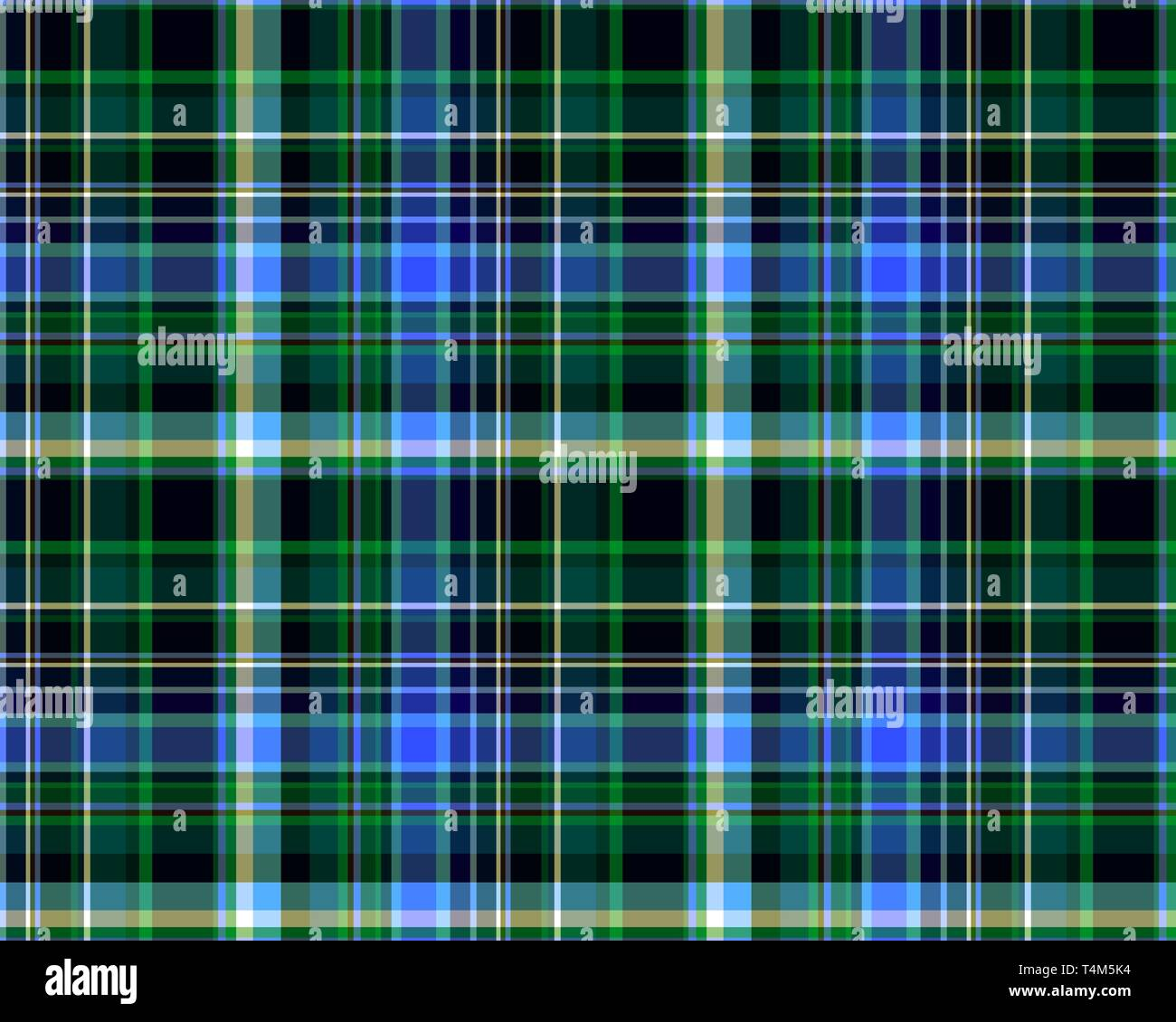 Seamless plaid pattern. fabric pattern. Checkered texture for clothing fabric prints, web design, home textile, tablecloths, clothes, shirts, dresses, - Stock Vector
