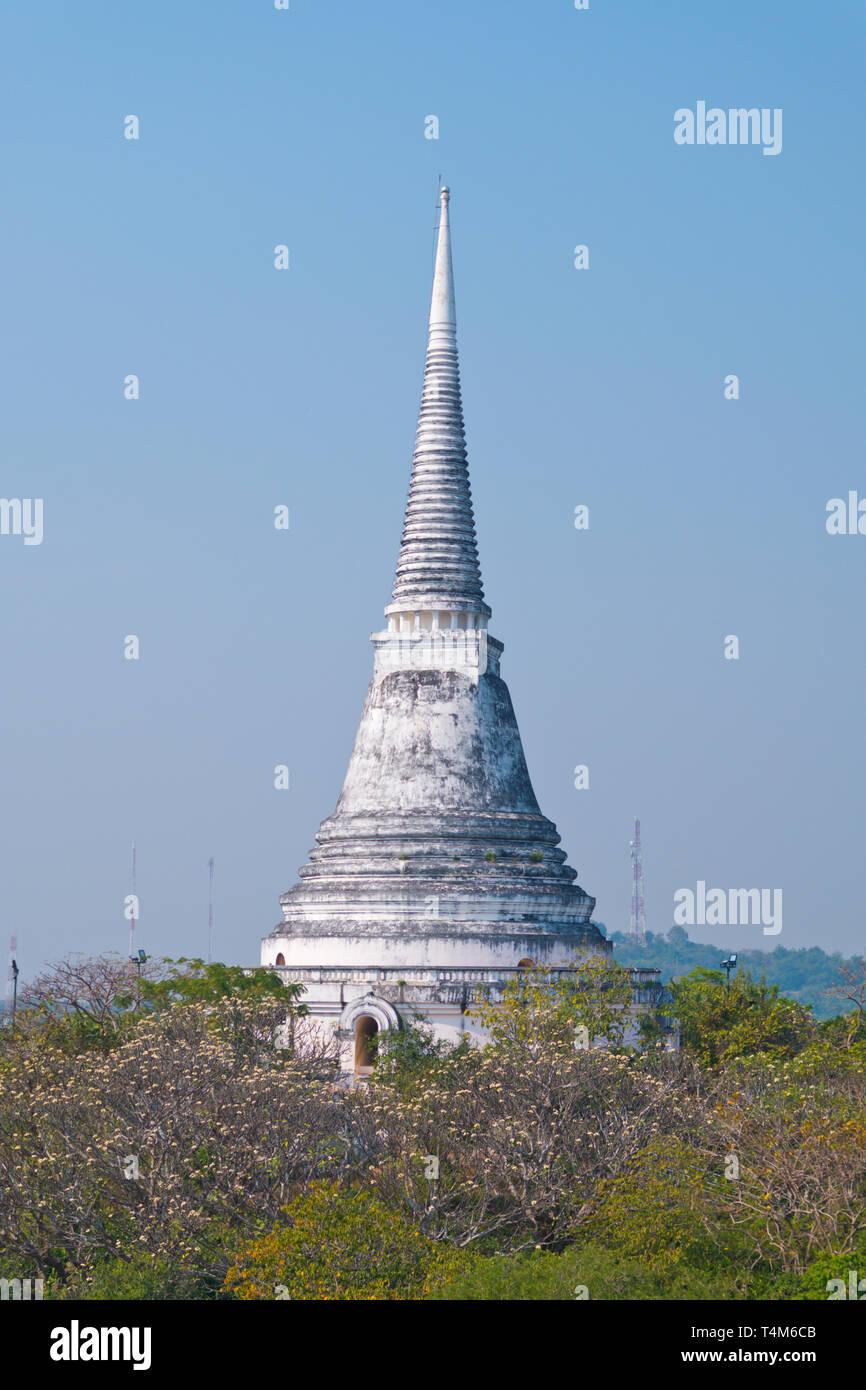 Phra That Chom Phet, Phra Nakhon Khiri Historical Park, Phetchaburi, Thailand Stock Photo