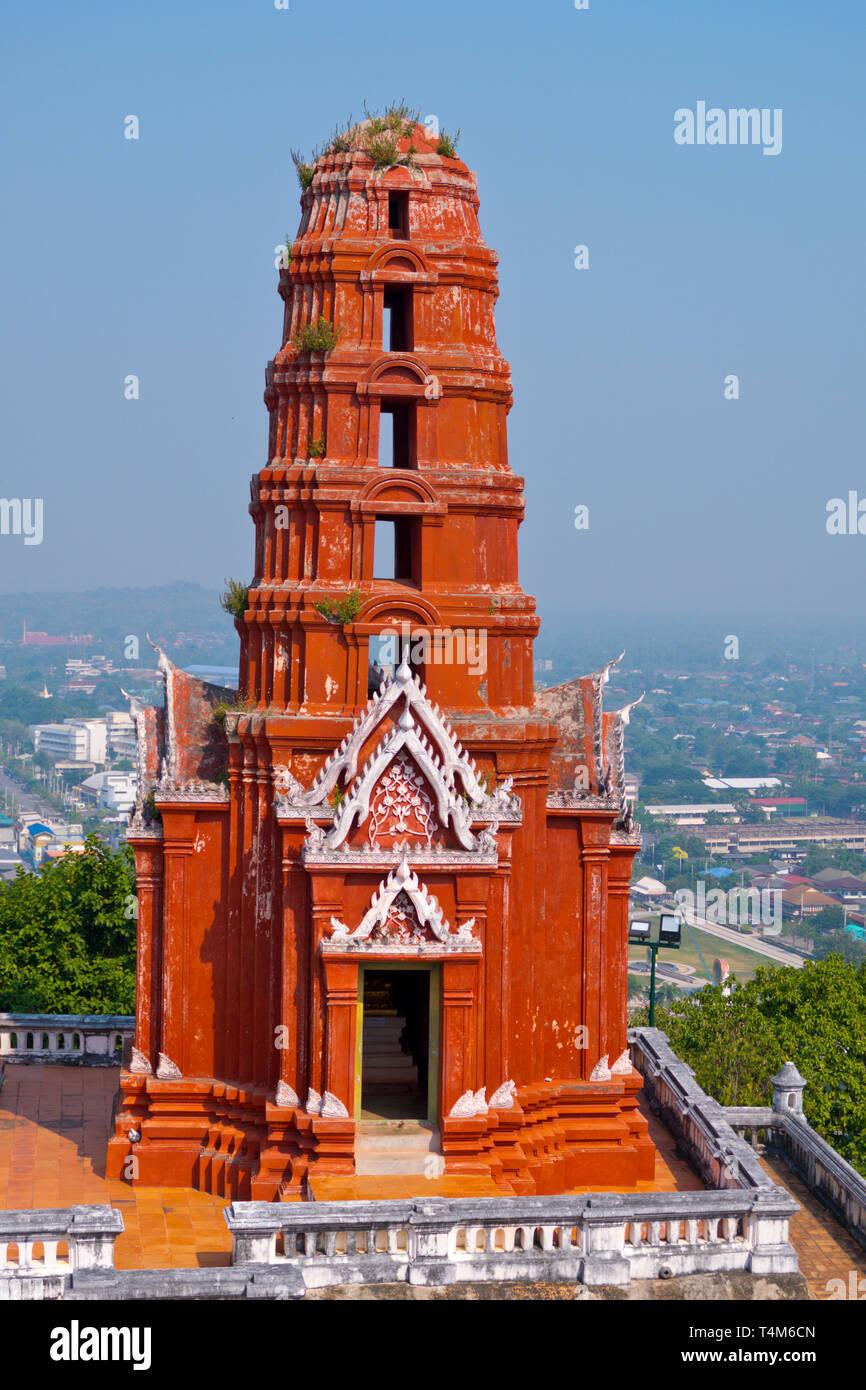 Wat Phra Kaew Noi, Phra Nakhon Khiri Historical Park, Phetchaburi, Thailand Stock Photo