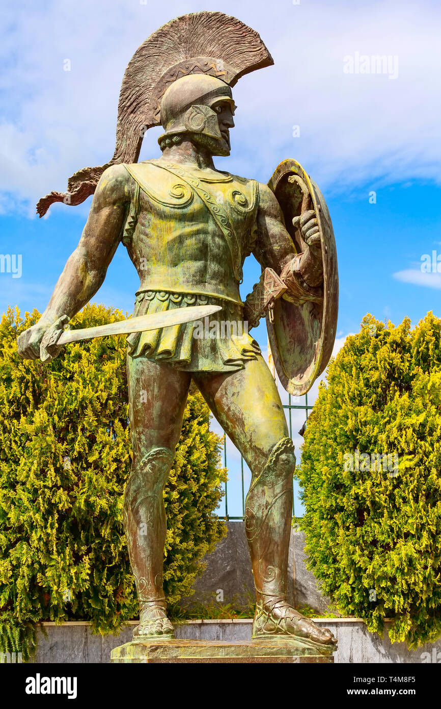 Spartan Statue High Resolution Stock Photography And Images Alamy
