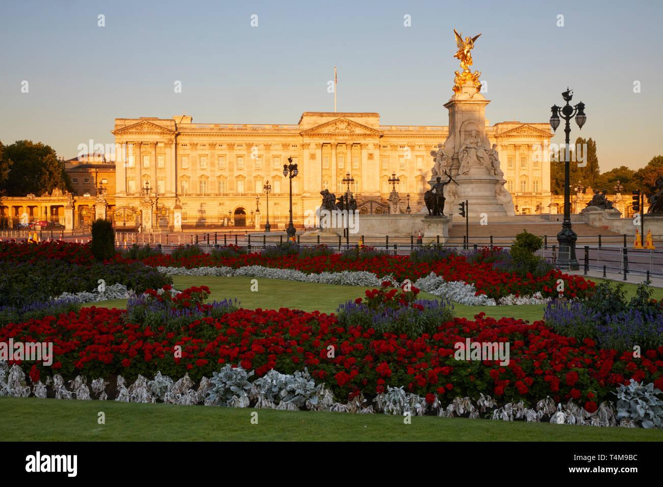 Buckingham Palace, Westminster, London, England, UK Stock Photo
